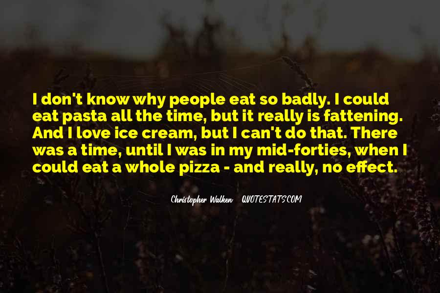 Quotes About Pasta And Love #1000347