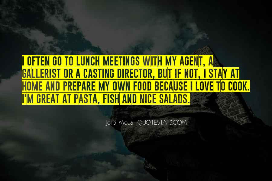 Quotes About Pasta And Love #1238745