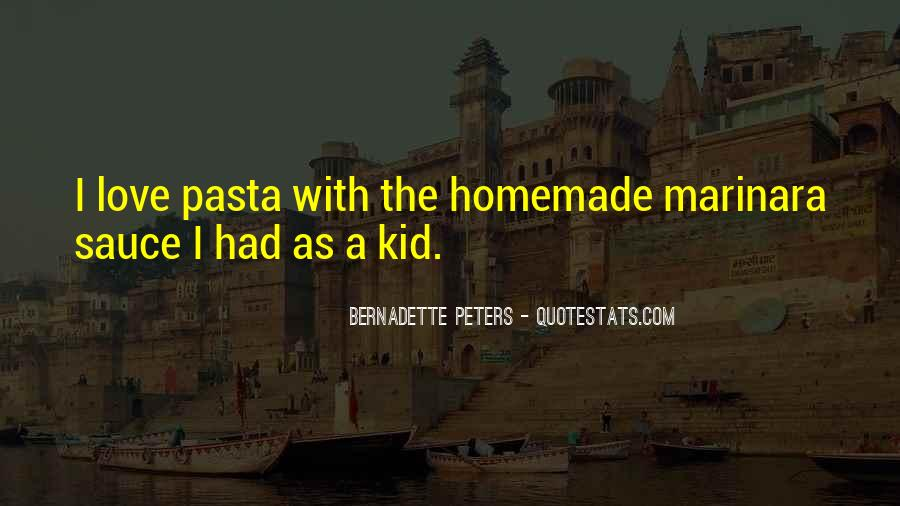 Quotes About Pasta And Love #223519