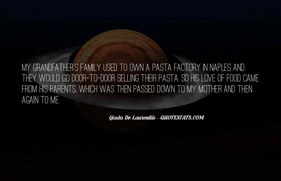 Quotes About Pasta And Love #645488