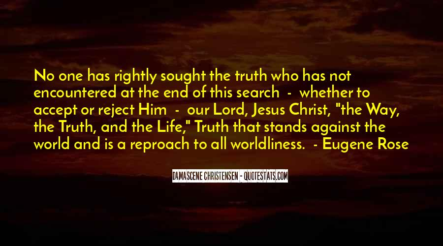 Quotes About The Way The Truth The Life #346322
