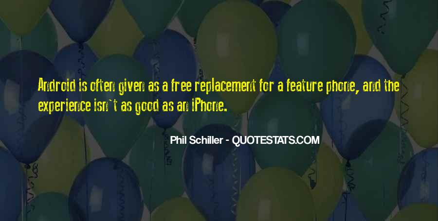 Quotes About Replacement #117686