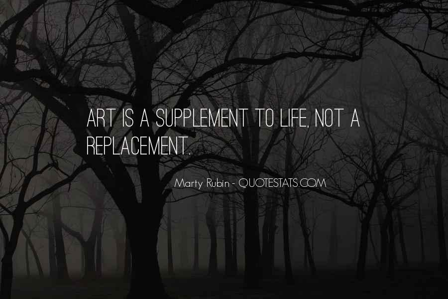 Quotes About Replacement #571119