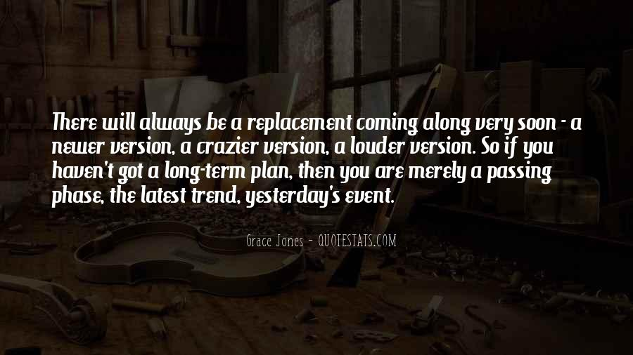 Quotes About Replacement #988291