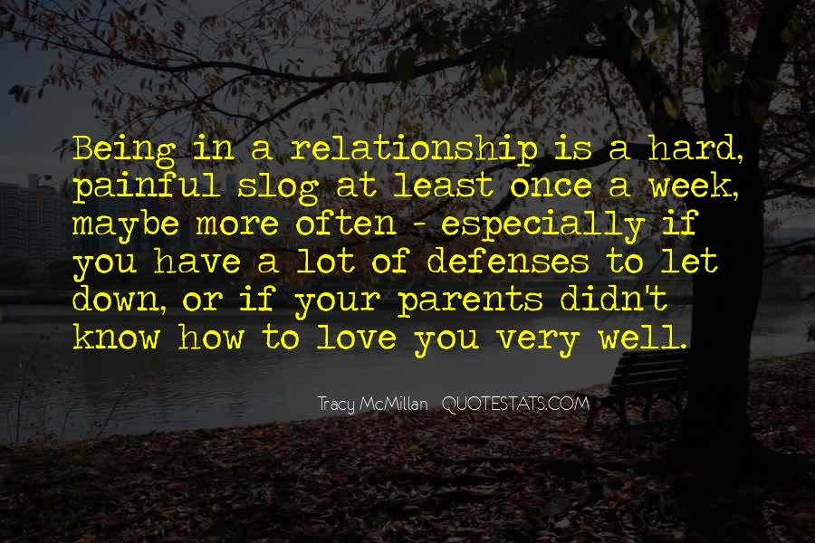 Quotes About Love Being Hard Sometimes #1006676