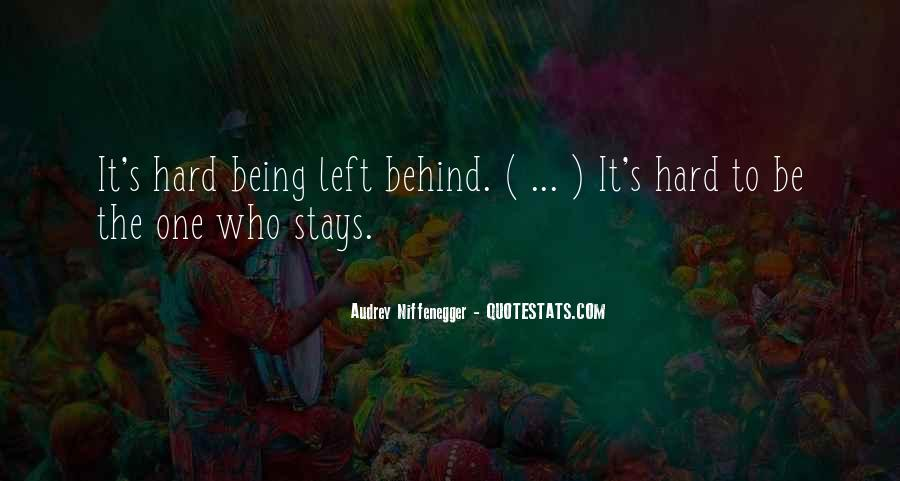 Quotes About Love Being Hard Sometimes #446977