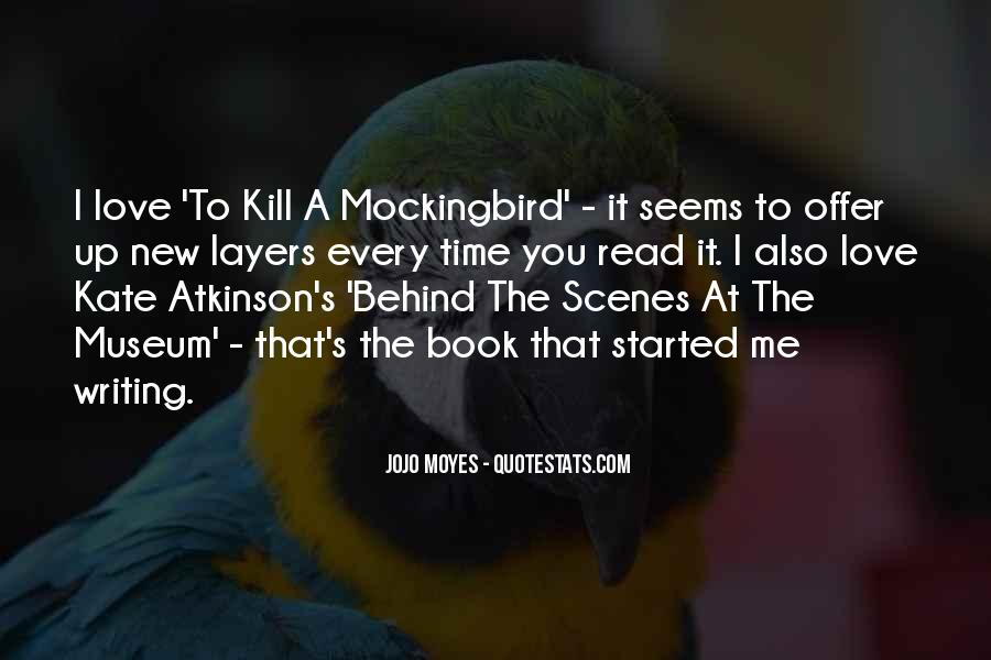 Quotes About The Book To Kill A Mockingbird #1023935
