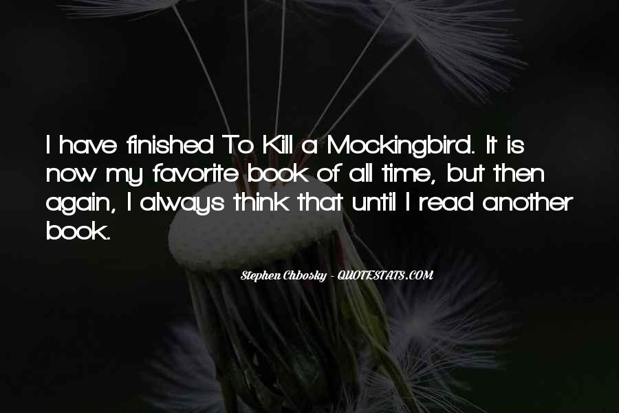 Quotes About The Book To Kill A Mockingbird #363777