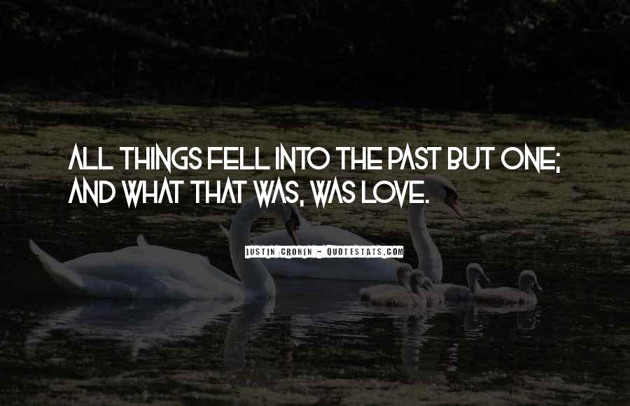 Quotes About Past Memories Of Love #109105