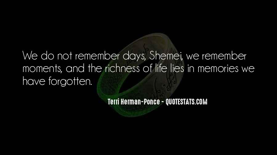 Quotes About Past Memories Of Love #1478993