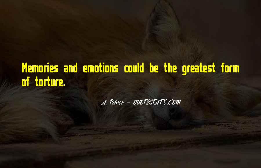 Quotes About Past Memories Of Love #165868