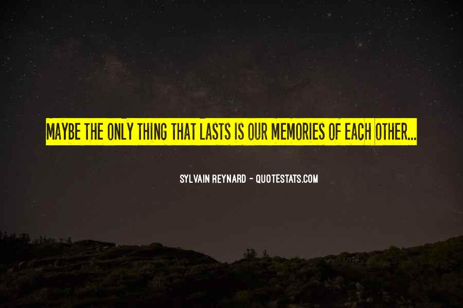 Quotes About Past Memories Of Love #171736