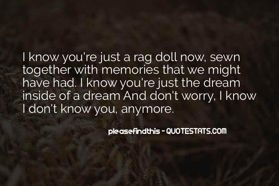 Quotes About Past Memories Of Love #1739287