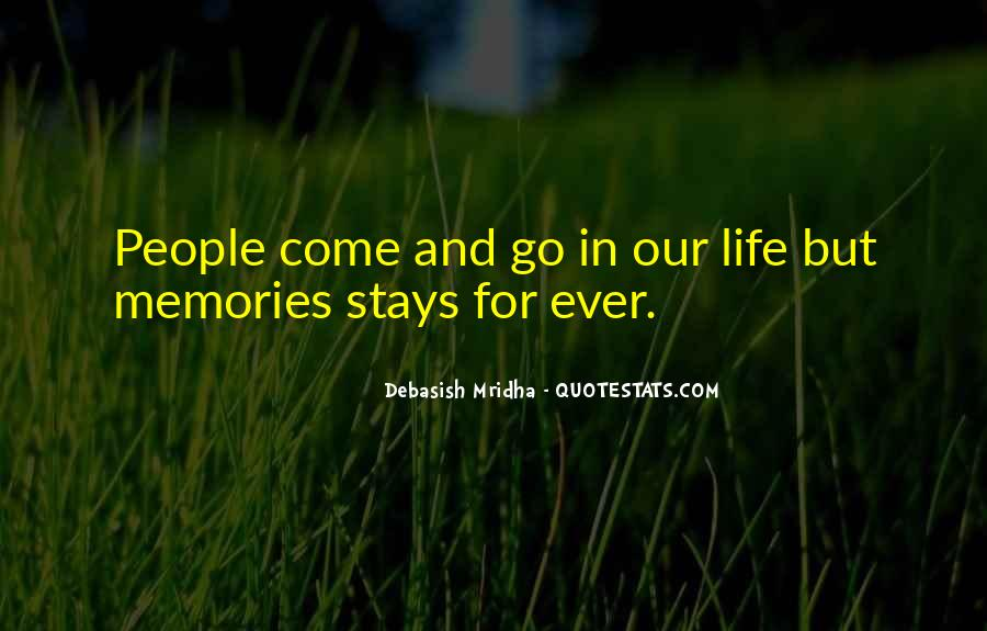 Quotes About Past Memories Of Love #191444