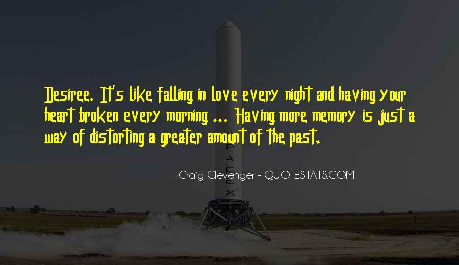 Quotes About Past Memories Of Love #400330