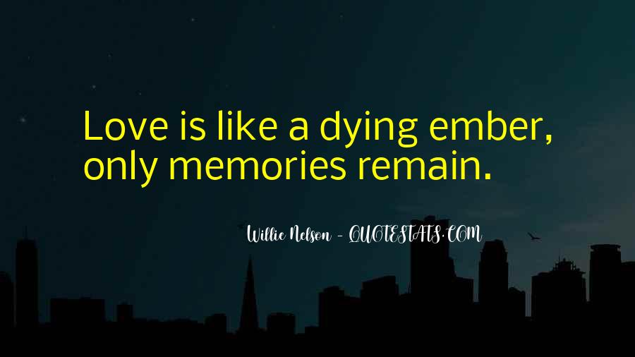 Quotes About Past Memories Of Love #63294