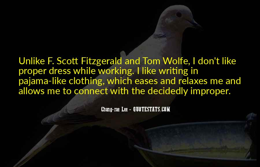 Quotes About Writing F Scott Fitzgerald #1043877
