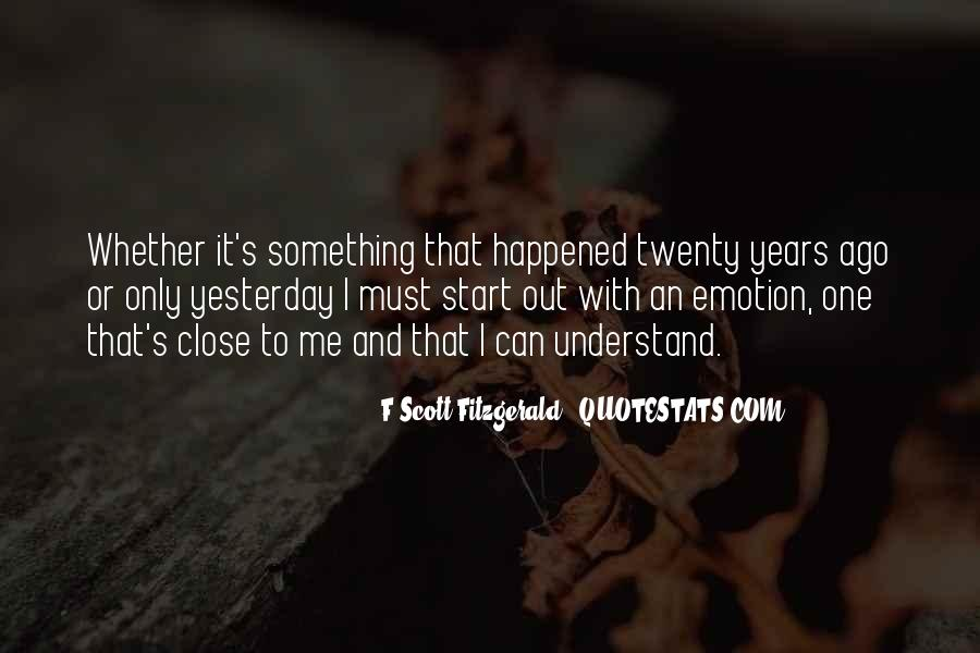 Quotes About Writing F Scott Fitzgerald #146832