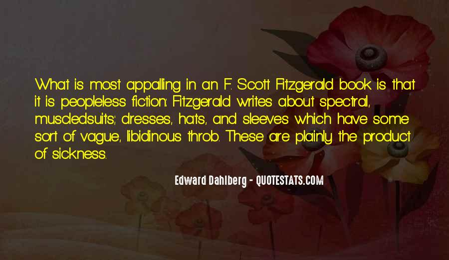 Quotes About Writing F Scott Fitzgerald #1786253