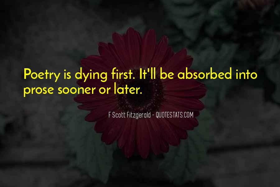 Quotes About Writing F Scott Fitzgerald #1827319