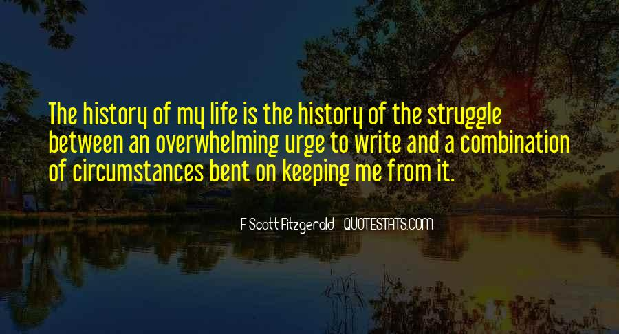 Quotes About Writing F Scott Fitzgerald #603283
