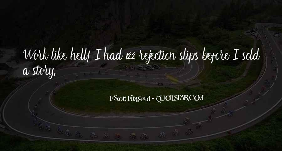 Quotes About Writing F Scott Fitzgerald #718884