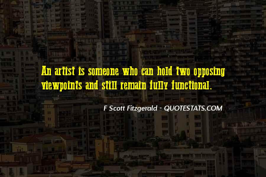 Quotes About Writing F Scott Fitzgerald #838369