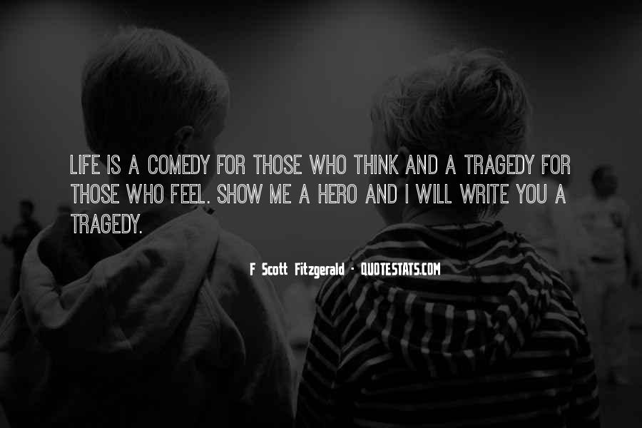 Quotes About Writing F Scott Fitzgerald #880704