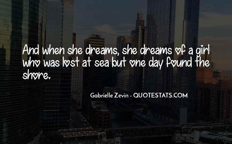 Quotes About A Girl And The Sea #389390