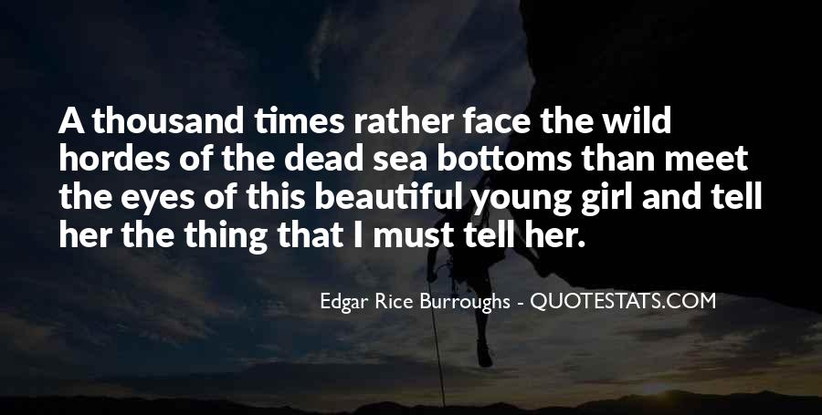 Quotes About A Girl And The Sea #893414