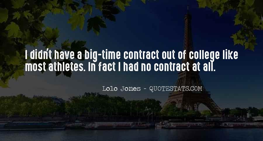 Quotes About College Athletes #145646