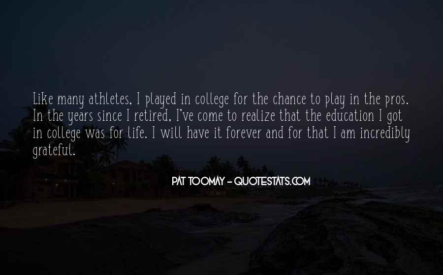 Quotes About College Athletes #52434