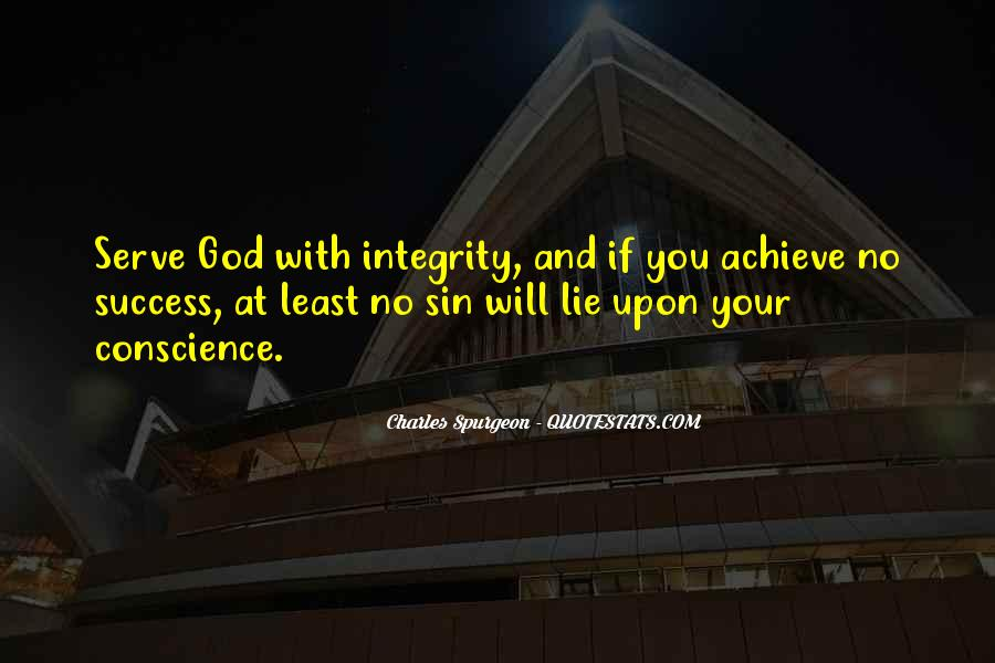 Quotes About Integrity And Lying #1101064
