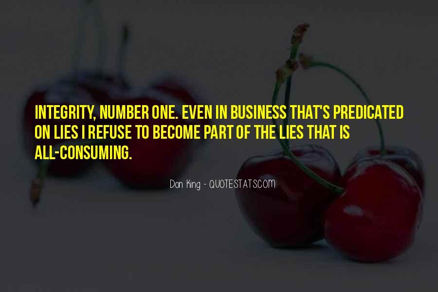 Quotes About Integrity And Lying #1335136