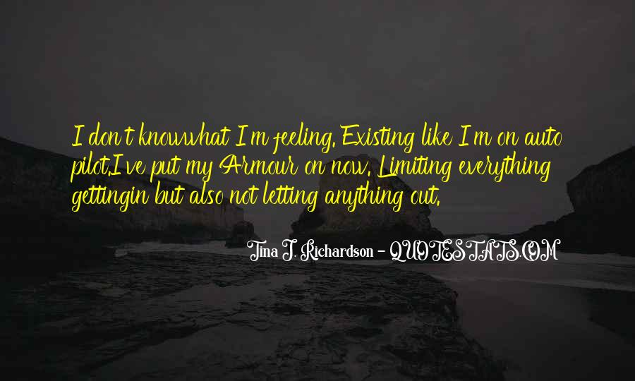 Quotes About You Letting Me Go #46573