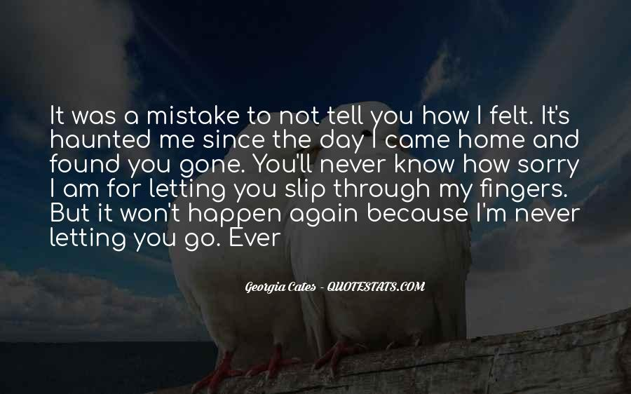 Quotes About You Letting Me Go #5988