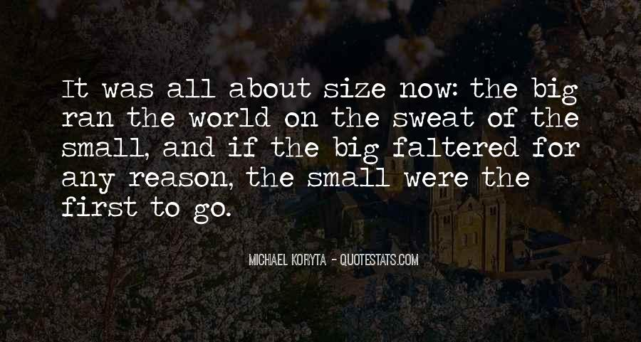 Quotes About Big Size #1011044