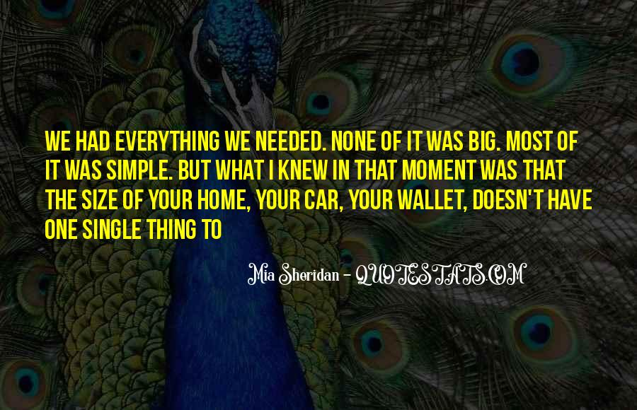Quotes About Big Size #1026011