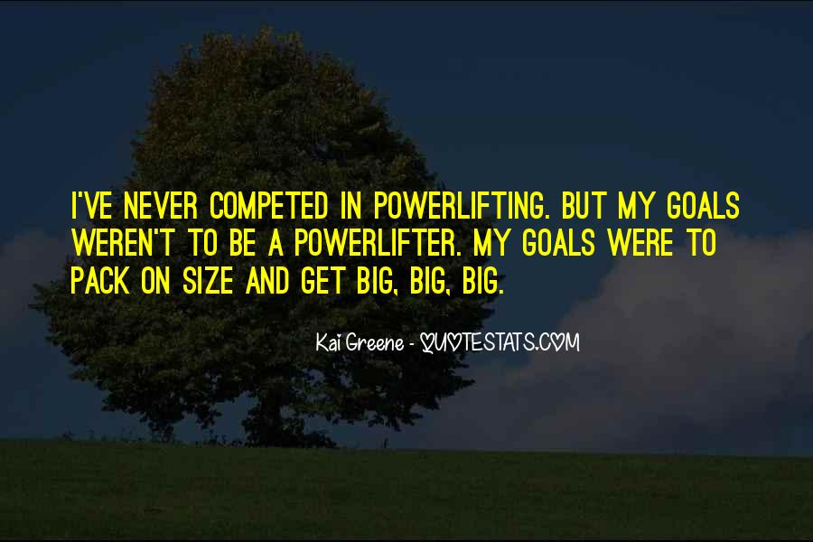 Quotes About Big Size #1043889