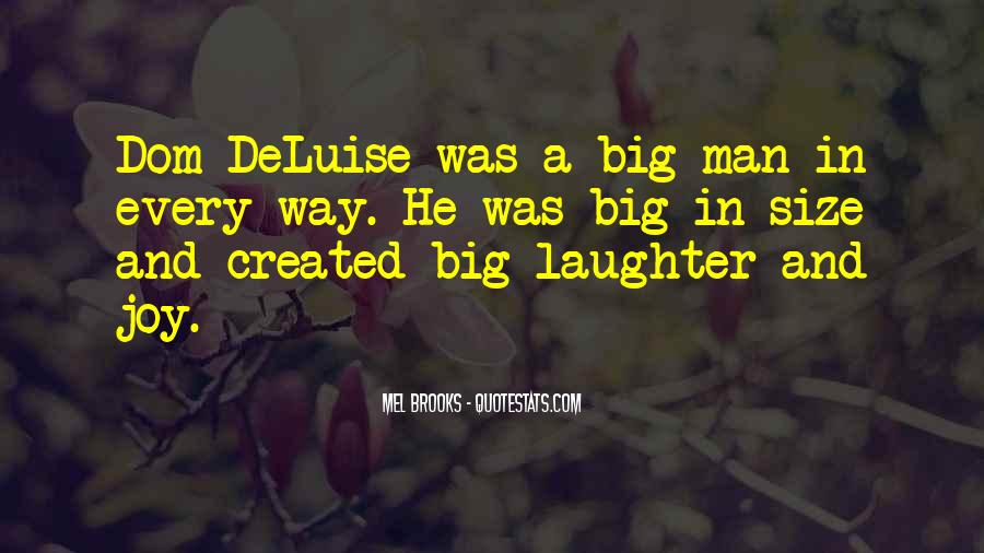Quotes About Big Size #1079523