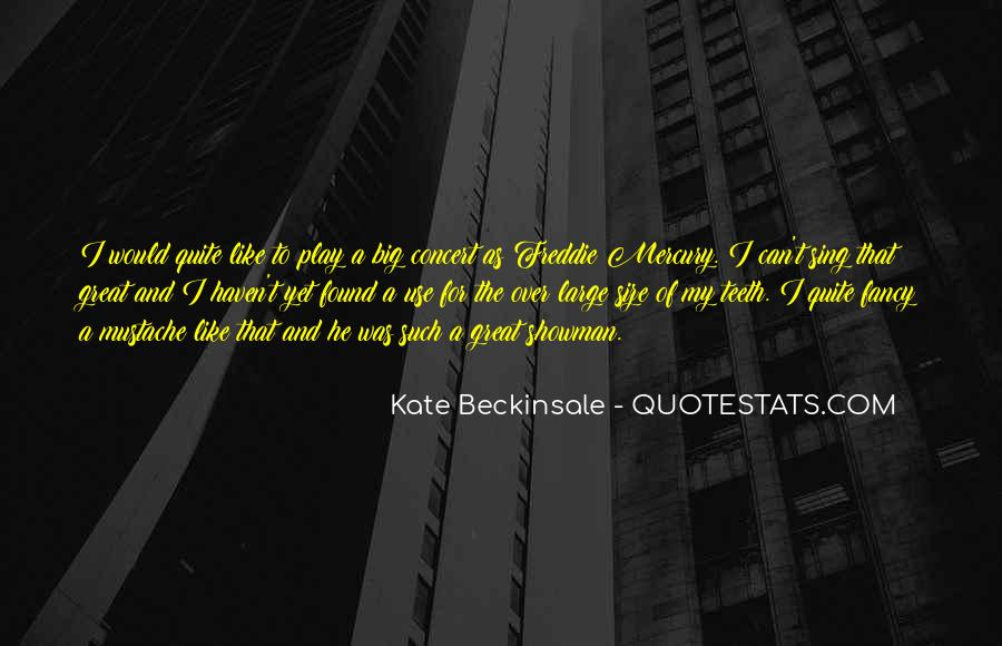 Quotes About Big Size #15501