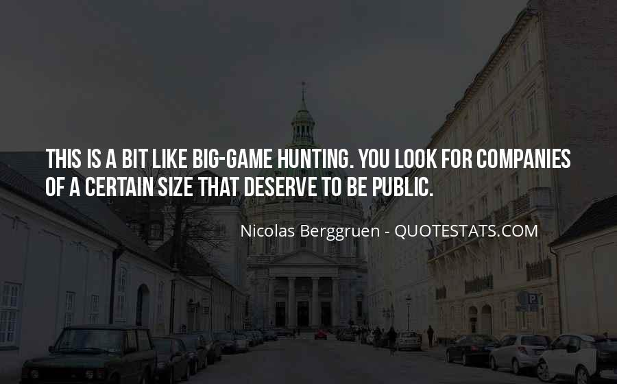 Quotes About Big Size #249996