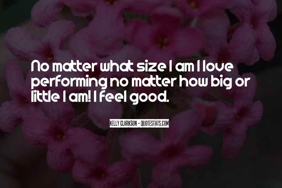 Quotes About Big Size #267556