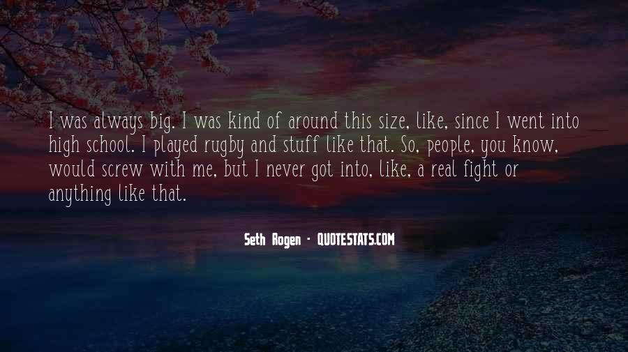 Quotes About Big Size #269380