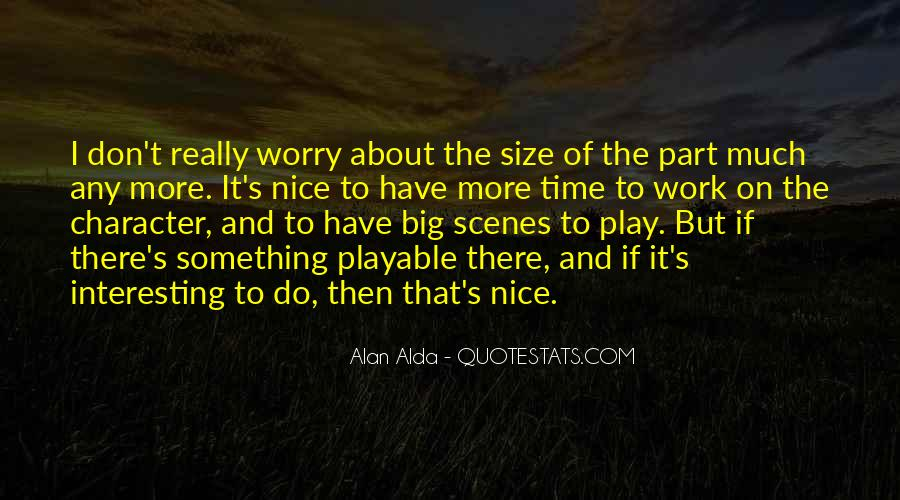 Quotes About Big Size #373743