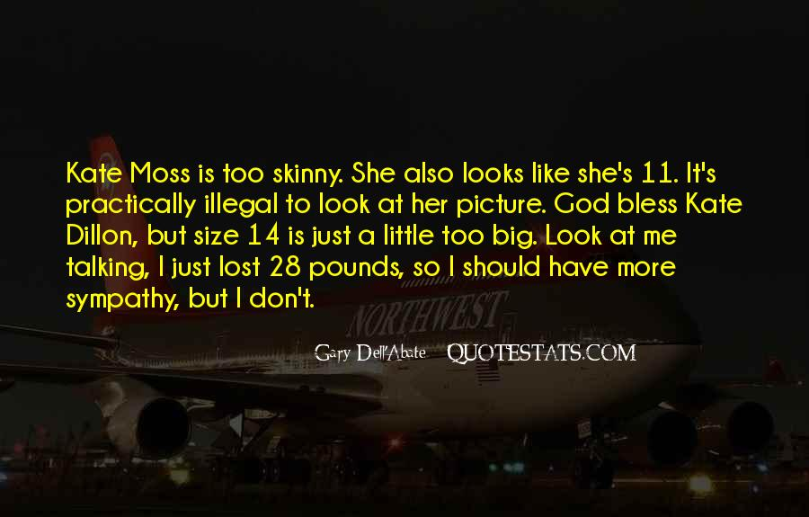Quotes About Big Size #409193