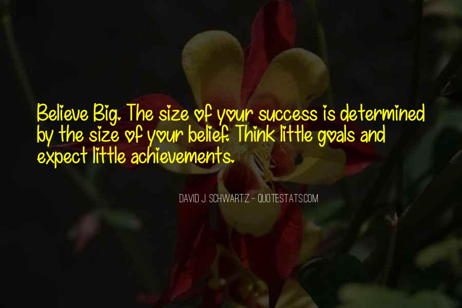 Quotes About Big Size #413553