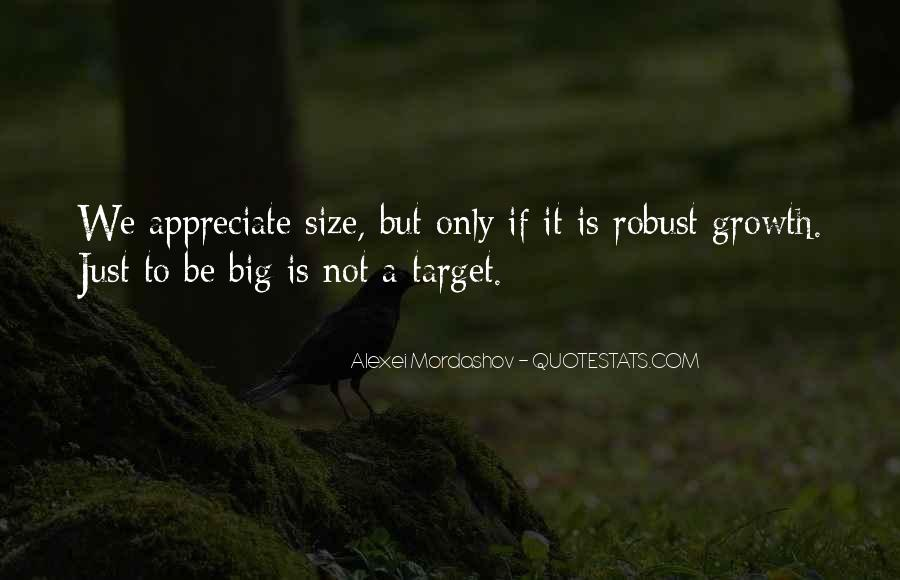 Quotes About Big Size #475994