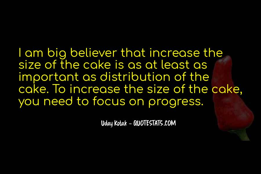 Quotes About Big Size #481017