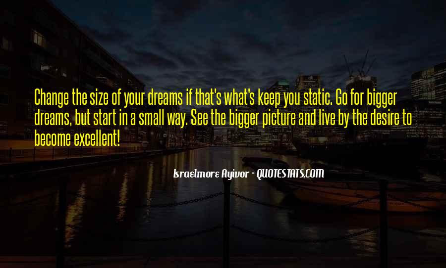 Quotes About Big Size #800185